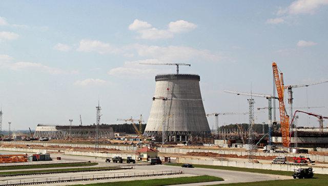 Минск необсуждает очевидную приостановку возведения Белорусской АЭС