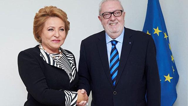 Матвиенко: ниодна делегация ПАСЕ неможет быть дискриминирована