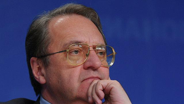 РФ готова посредничать в урегулировании ситуации в Африне, заявил Богданов