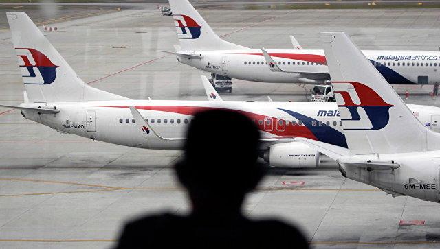 Самолеты авиакомпании Malaysia Airlines в аэропорту Куала-Лумпур. Архивное фото