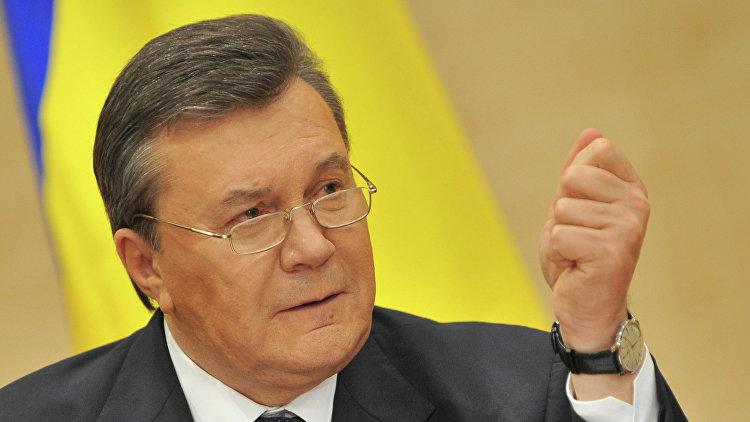 Экс-президент Украины Янукович обратился в ЕСПЧ