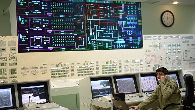 Главный щит управления 4-м энергоблоком с реактором БН-800 Белоярской АЭС в городе Заречный Свердловской области. Архивное фото