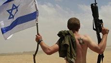 Военнослужащий армии Израиля. Архивное фото