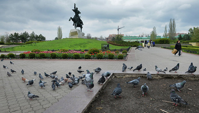 Город Тирасполь, столица ПМР. Архивное фото