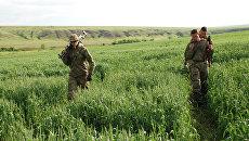 Батальонная разведка ополчения ДНР в районе поселка Широкино. Архивное фото