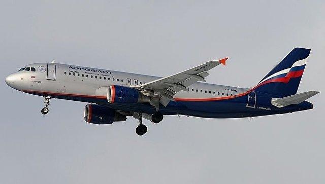 Самолет Airbus A320 авиакомпании Аэрофлот. Архивное фото