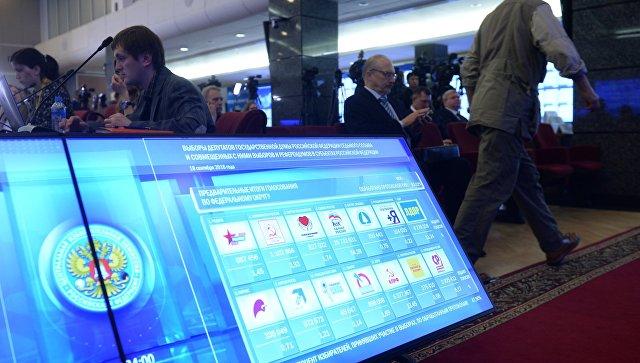На выборах в России работало 63 наблюдателя из США