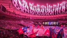 Церемония закрытия XV летних Паралимпийских игр 2016 в Рио-де-Жанейро. Архивное фото