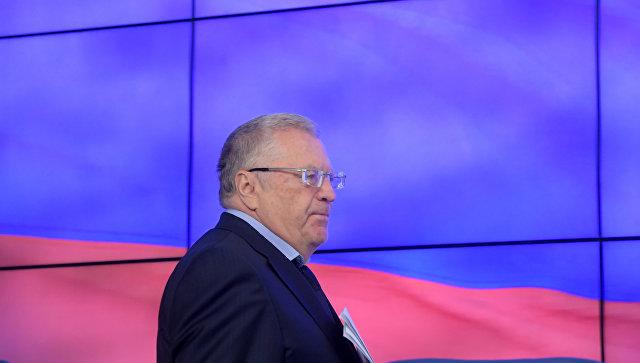 Жириновский выступил засоздание трехпартийной системы в Российской Федерации