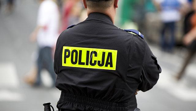Польская полиция. Архивное фото