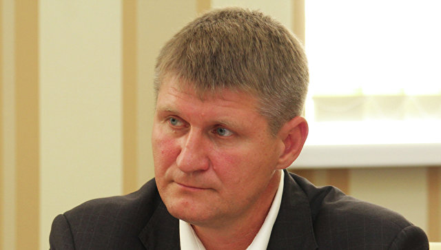 Первый вице-премьер крымского правительства Михаил Шеремет. Архивное фото