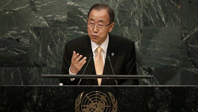 Пан ГиМун: будущее Сирии недолжно опираться научасть одного человека