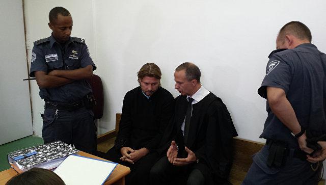 Священник Глеб Грозовский в суде