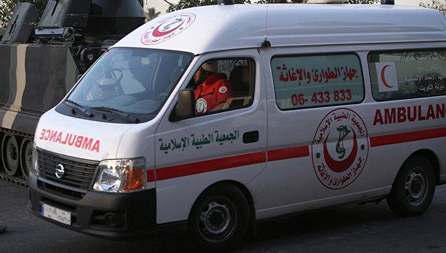 Автомобиль скорой помощи, Ливия. Архивное фото