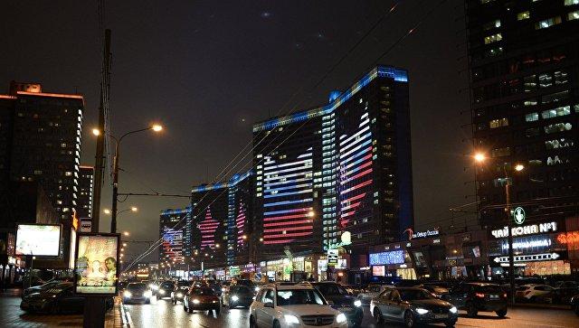 Медиафасады домов-книжек наАрбате украсят новогоднюю российскую столицу
