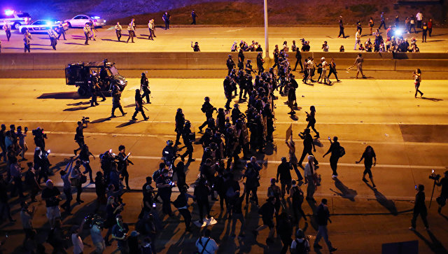 Ситуация в американском городе Шарлотт. 23 сентября 2016