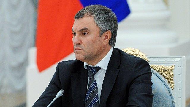 Первый заместитель руководителя администрации президента РФ Вячеслав Володин