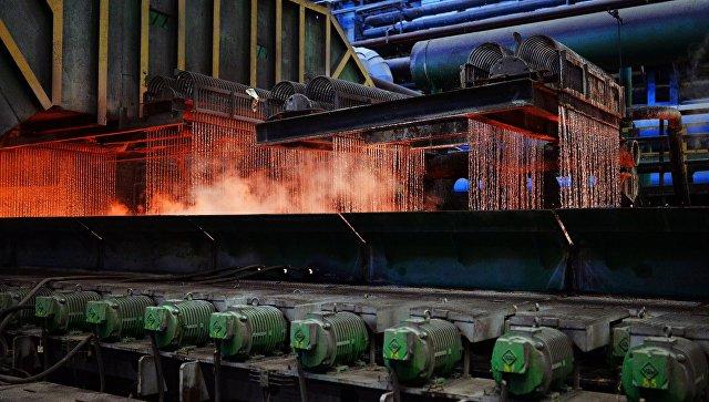 Новолипецкий металлургический комбинат. Архивное фото