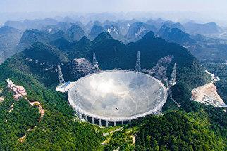 Крупнейший в мире радиотелескоп FAST, Китай. 24 сентября 2016