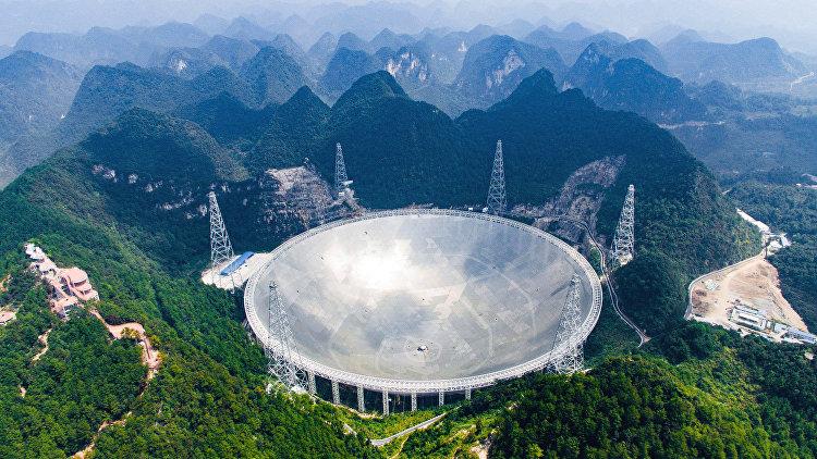 В Китае ввели в эксплуатацию крупнейший в мире радиотелескоп FAST