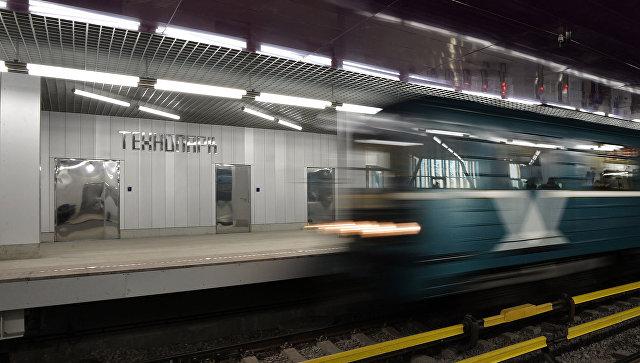 Поезд Московского метрополитена. Архивное