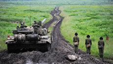 Экипаж танка Т-90. Архивное фото