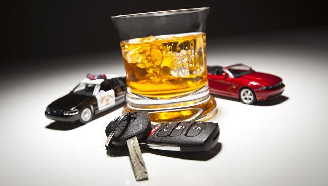 Пьянство за рулем. Архивное фото
