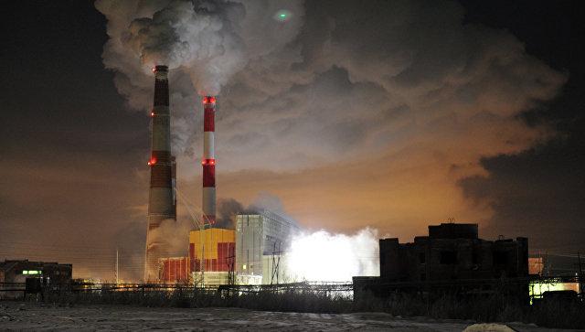 Промышленный завод
