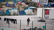 Лагерь для беженцев. Архивное фото