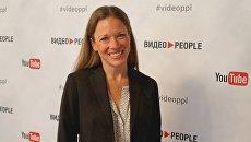 Вице-президент YouTube Келли Мэримен на конференции ВидеоPeople