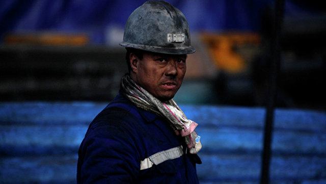 Китайский шахтер