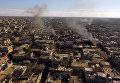 Освобожденный бойцами Сирийской арабской армии (САА) от террористов город Шейх-Мискин в сирийской провинции Дераа