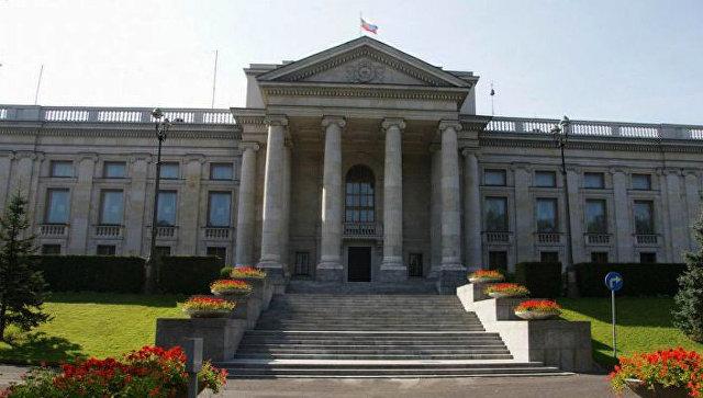 Здание посольства России в Варшаве