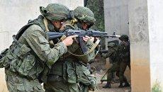 Военнослужащие России и Пакистана во время учений. Архивное фото