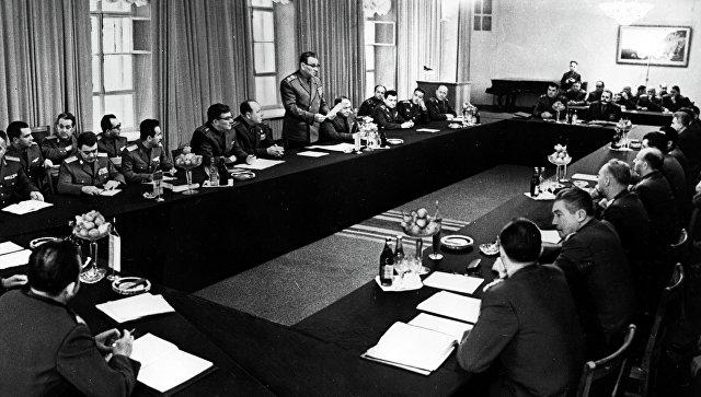 Совещание министров обороны государств-участников Варшавского Договора