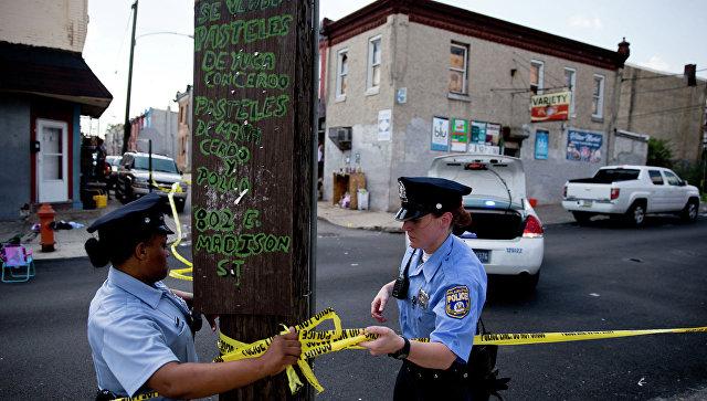 ВФиладельфии закрыли 4 школы из-за стрельбы наулице