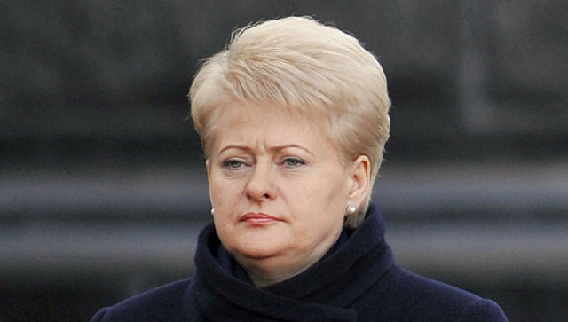 Президенты Литвы и Украины Даля Грибаускайте. Архивное фото