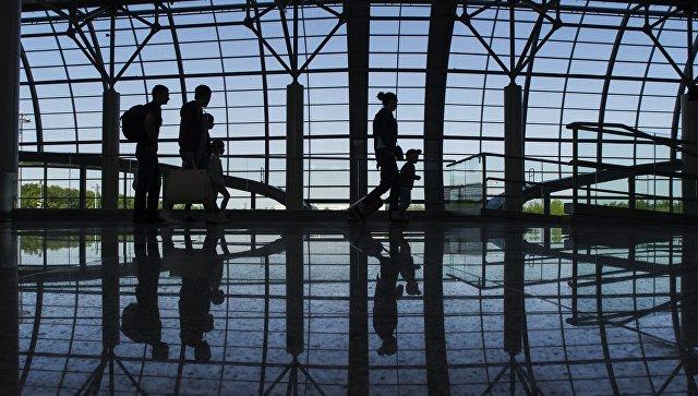 Открытие нового сегмента пассажирского терминала в аэропорту Домодедово. Архивное фото