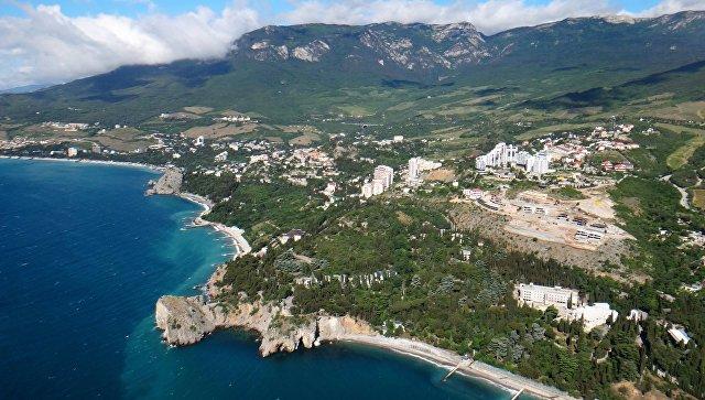 Вид Крыма. Архивное фото