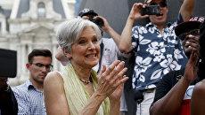 Бывший кандидат в президенты США от Партии зеленых Джилл Стайн. Архивное фото