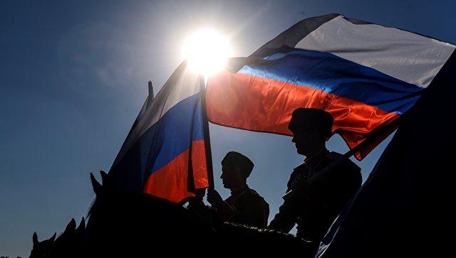 Флаги России. Архивное фото