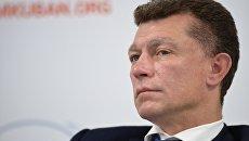 Министр труда и социальной защиты РФ Максим Топилин на международном инвестиционном форуме Сочи 2016