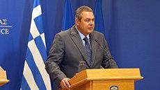 Министр Национальной обороны Греции Панос Камменос