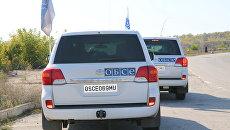 Автомобили ОБСЕ. Архивное фото