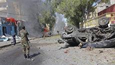Ситуация в Могадишо, Сомали. Архивное фото