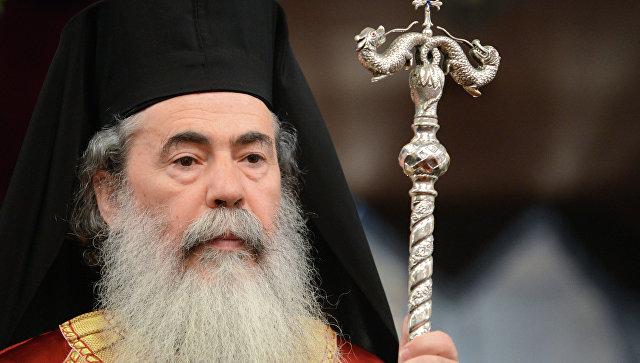 Патриарх Иерусалима призвал к единству православных церквей