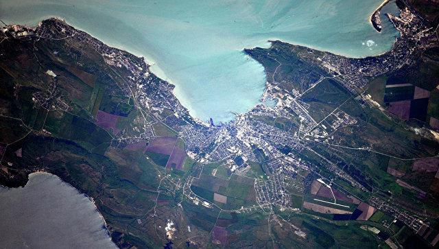 Крым из космоса. Архивное фото