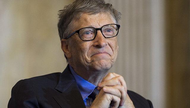 Американский предприниматель и общественный деятель Билл Гейтс. Архивное фото