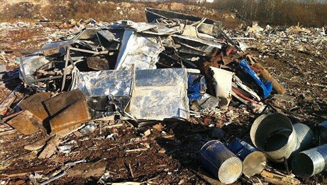 Свалку объемом более 80 кубометров ликвидировали в Дубне