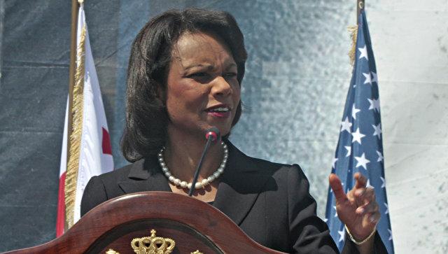 Госсекретарь США Кондолиза Райс. Архивное фото